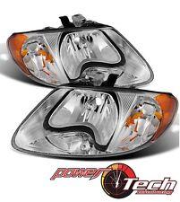 Dodge Grand Caravan Chrysler Voyager Headlight Headlamp Left & Right Pair Set