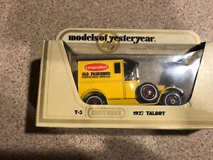 MATCHBOX-MODELS-OF-YESTERYEAR-1978-Y-5-1927-TALBOT-DELIVERY-VAN-TAYSTEE-BREAD