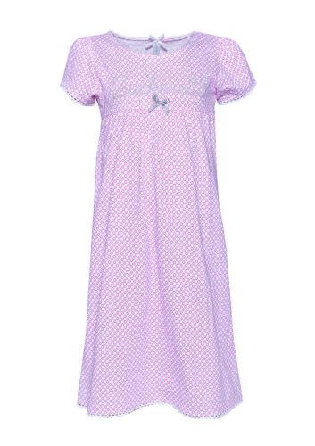 """LOUIS /& LOUISA /"""" Einfach mal die Zeit vergessen /"""" Nachthemd pink Gr.104   NEU"""