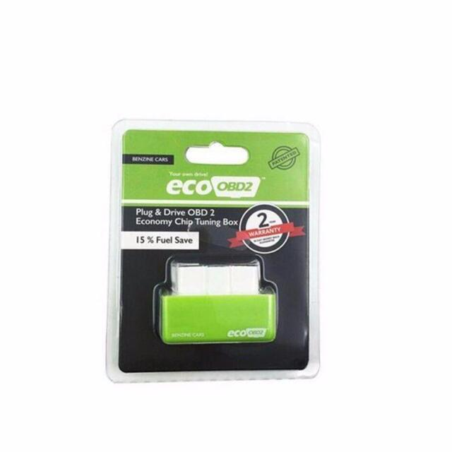 ECO OBD2 Detector Flasher Fuel Power Economy Chip Tuning Box for Petrol Cars CA