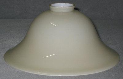 Schneidig Lampenglas Helmform 20cm Beige Neu Ersatzschirm