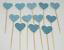 12-Paillettes-Coeur-Cupcake-Toppers-Parti-Decoration-cup-cake-topper-Food-drapeaux miniature 12