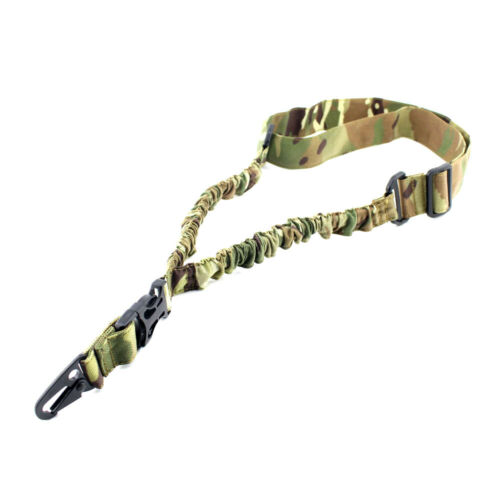 Tactical One Single Point Sling Bungee Rifle For Gun Strap Quick Buckle