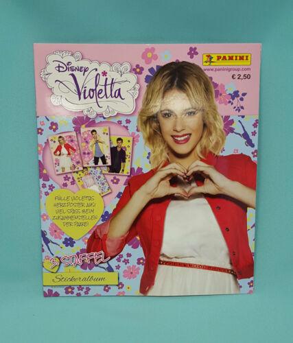 Panini disney violetta saison 3 Leeralbum album album de scrapbooking autocollants série 3