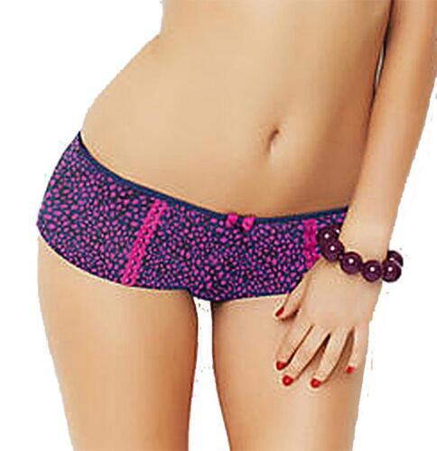 New Panache Cleo Jude Boy Shorts Purple//Pink 5844 Sizes 10-16 Brand New /& Tags