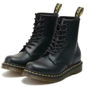 Details about Dr Doc Martens 8 Eye Classic Airwair 1460 Leather Ankle Boots Womens Mens