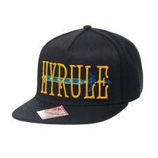 STUNNING THE LEGEND OF ZELDA  HYRULE SWORD BLACK SNAPBACK CAP HAT *NEW*