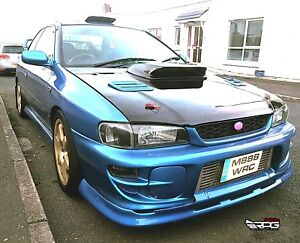 Image Is Loading RPG STi Large 4 034 Carbon Hood Scoop