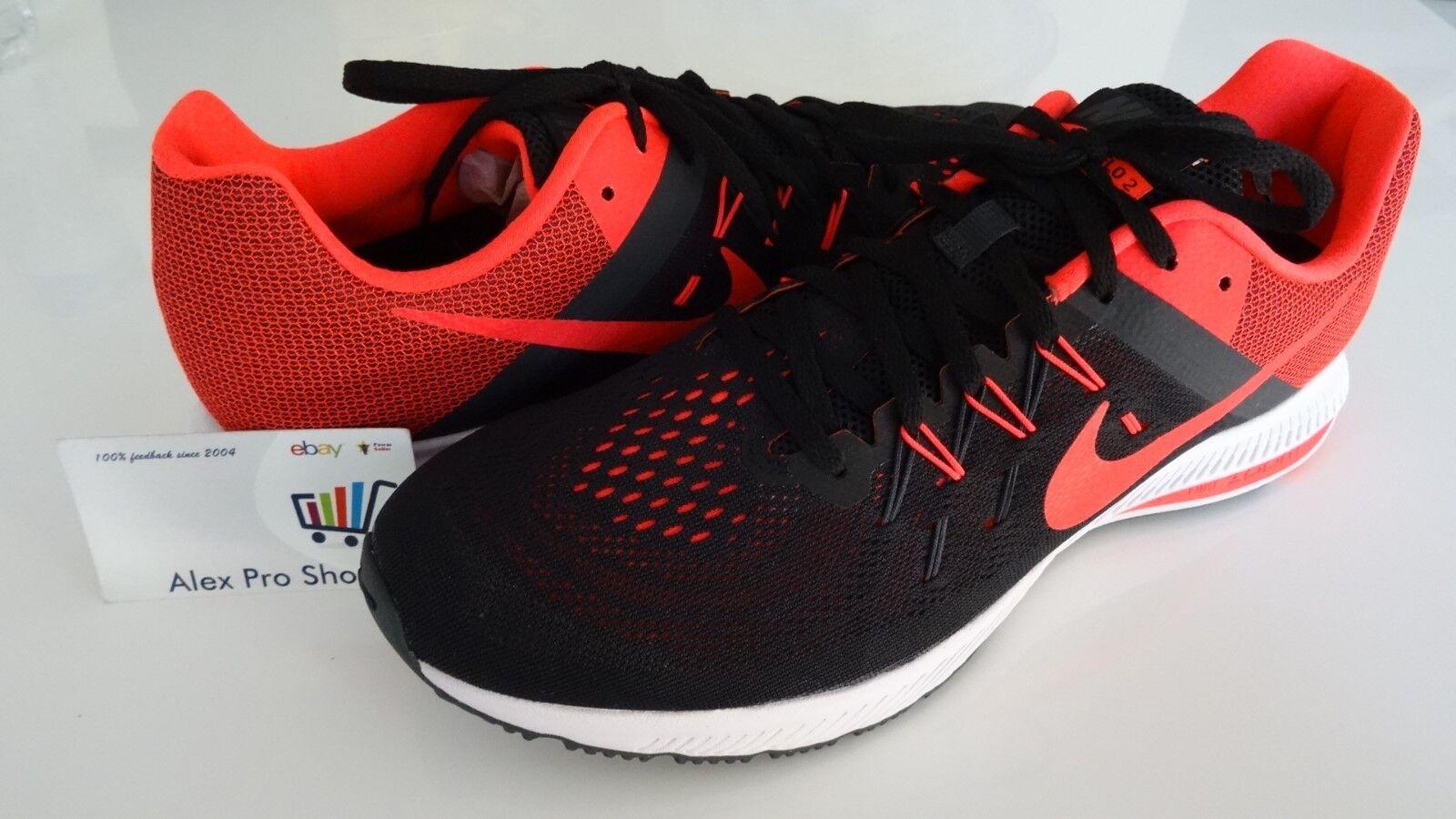 Nuevo Para hombres Talla 12 Nike Zoom Winflo 2 Zapatillas 807276 006