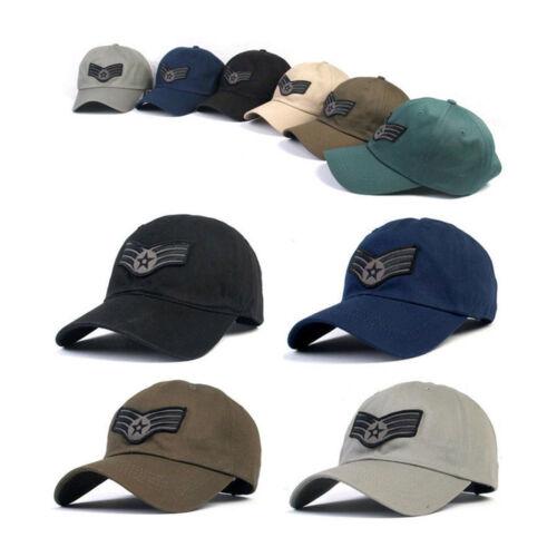 XL~2XL 61~64Cm Unisex Mens Soldier Cadet Star Big Size Baseball Cap Trucker Hats