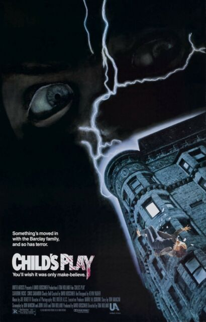 CHILD'S PLAY Movie Poster Horror Chucky