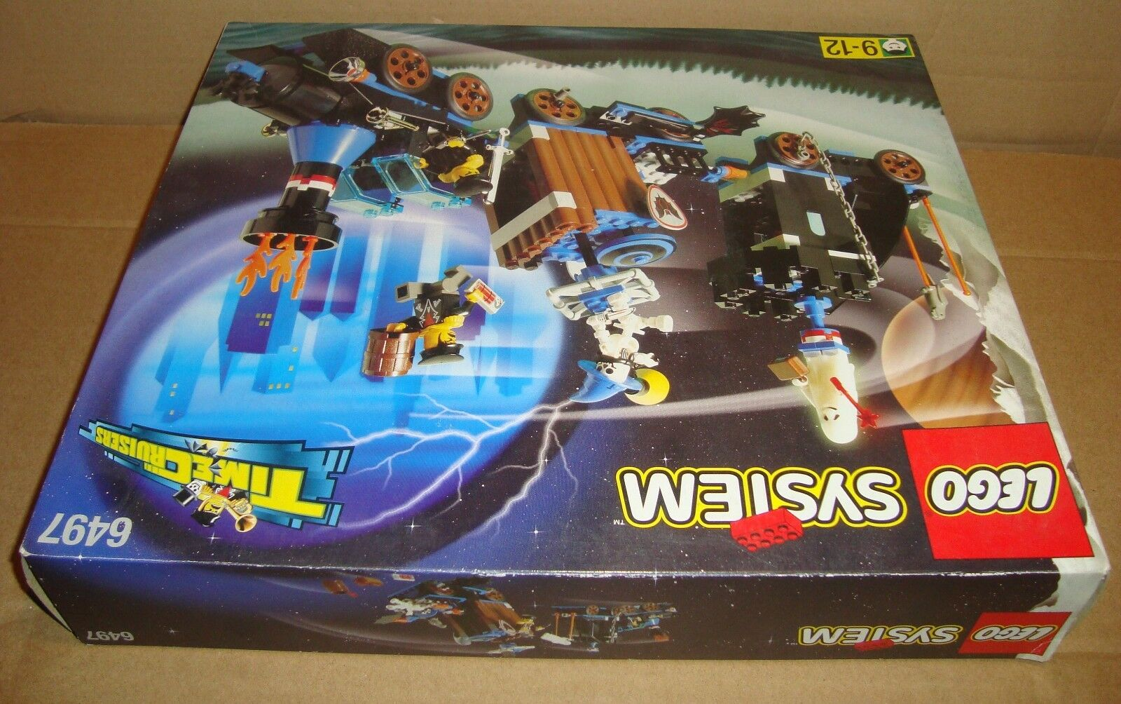 LEGO SYSTEM 6497 TIME TIME CRUISERS TWISTED TIME TIME TRAIN LEGO 1997 2e3c9f