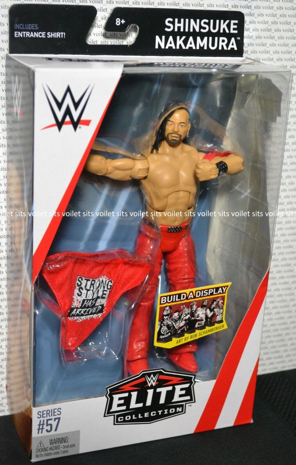 WWE Wrestling Wrestling Wrestling Elite Collection Series 57 Figure Shinsuke Nakamura 22c958