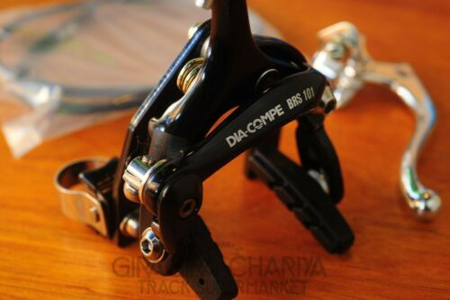 Dia Compe Keirin Clamp-on Brake Kit Front Rear Track Fixed No drilling