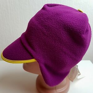 CONTE OF FLORENCE HAT FLEECE CAP SKI BEANIE SKULL PINK VINTAGE ... e5009aaccb1b