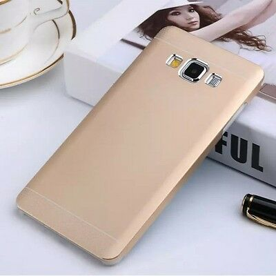 SLIM Luxury Aluminium Brushed Metal Hard Case Cover For Samsung Galaxy A5 & A7