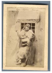 Algerie-Types-Algeriens-Mauresque-Vintage-albumen-print-Tirage-albumine