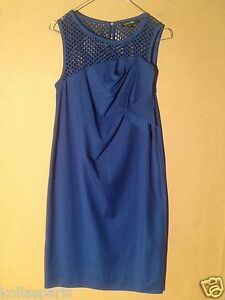 Georges 38 Blue Rech Chasuble Dress Cotton rCqrgxwT8