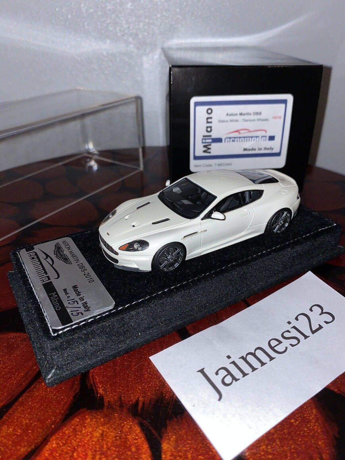 1 43 Tecnomodel Aston Martin DBS BBR MR Collection Looksmart