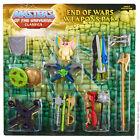End of Wars Weapons Pak Masters of the Universe Classics MOTU MOTUC HE MAN
