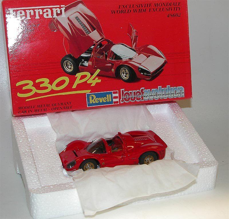 Jouef Evolution Revell 48602, Ferrari 330 P4, red, 1 43, OVP