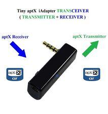KOKKIA iTRANSCEIVER : Tiny iAdapter aptX Bluetooth  Stereo Transmiiter+Receiver