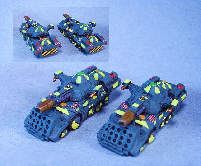 Battletech Pintado Glaive Tanques (2) YG