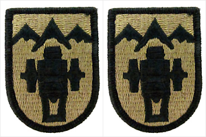 Sew On Full Color Infantry Division Patches Pack of 20 77th