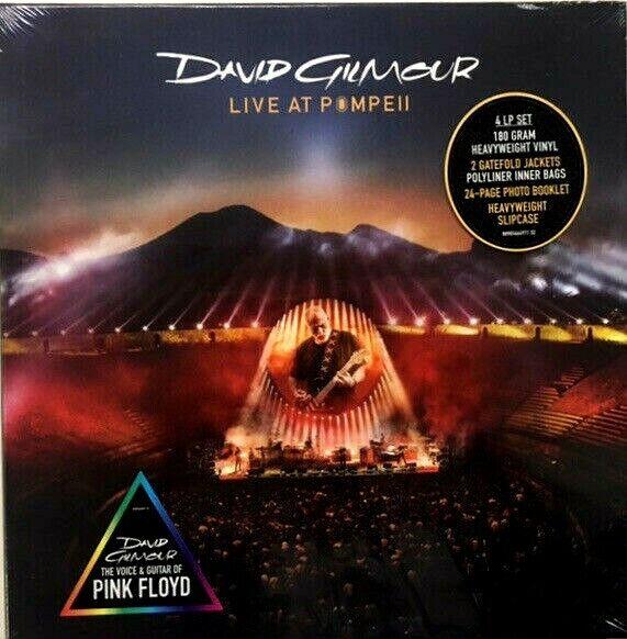 GILMOUR DAVID - LIVE AT POMPEII  BOX VINILI 4LP SIGILLATO