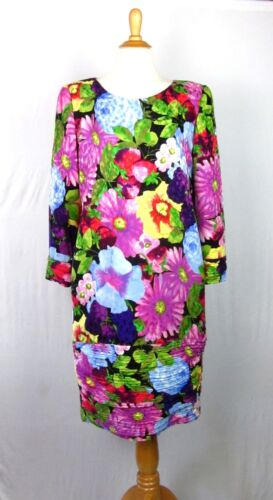 Vintage 80s CH Carolina Herrera Floral & Fruit Pri