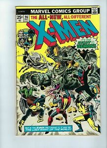 Uncanny-X-Men-96-VG-4-5-1st-Appearance-Moira-McTaggert-Wolverine