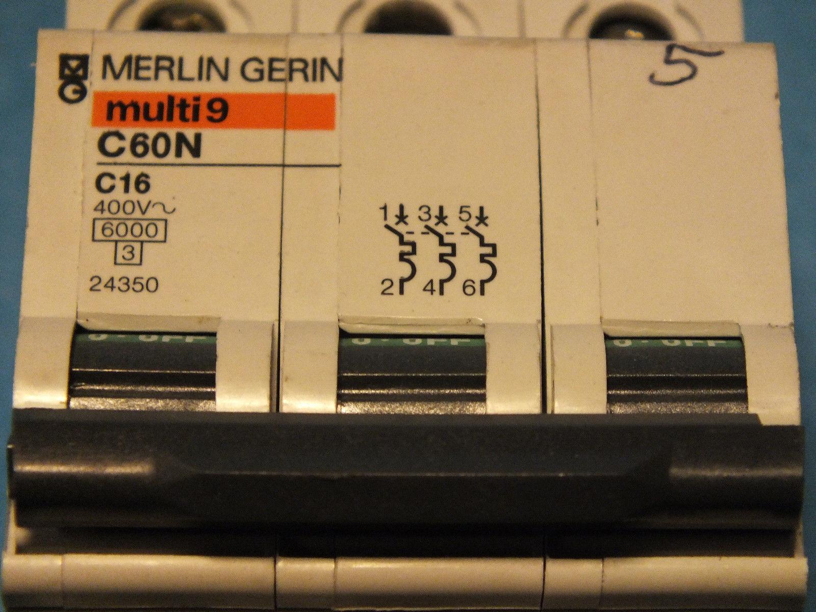 MERLIN GERIN multi9 C60N C16 24350