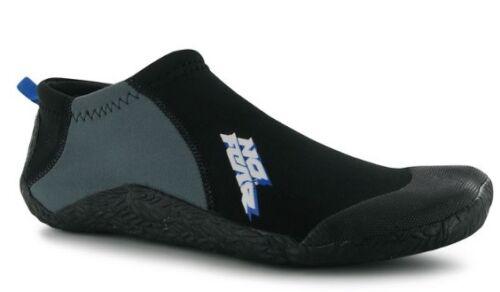 No Fear Men's Neoprene Surfing Shoe All Sizes Black NEW