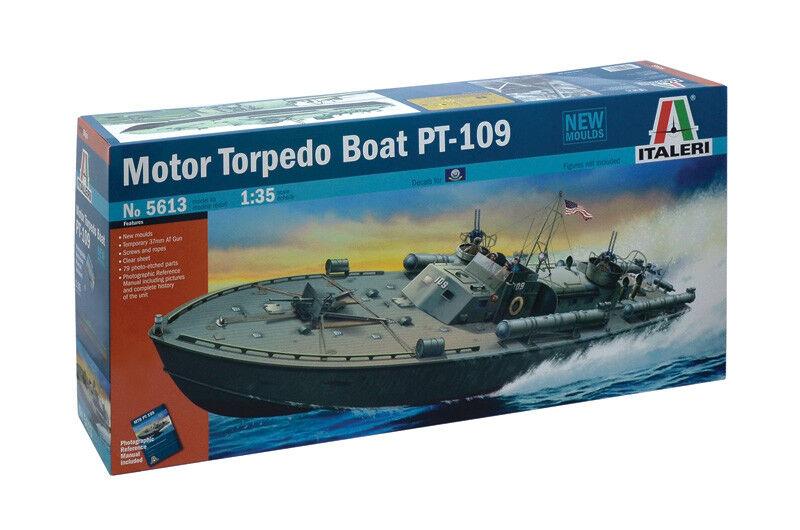 Motor Torpedo Boat pt-109 Kit  Italeri 1 35 it5613  les dernières marques en ligne