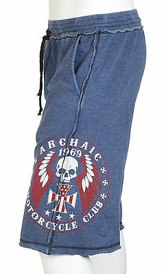 Archaic AFFLICTION Men Shorts MOTOR American Customs Fighter Gym UFC S-XXL $54