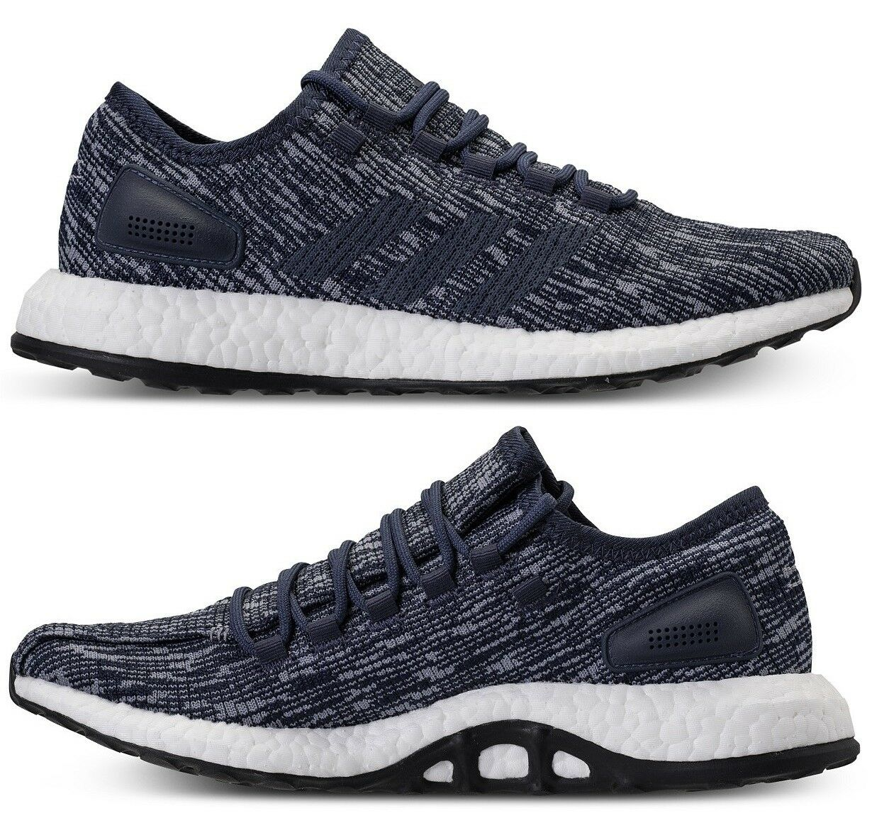 ADIDAS PUREBOOST MEN's RUNNING KNIT AUTHENTIC BLUE - WHITE NEW IN BOX SELECT SZ