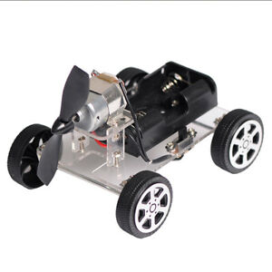 Creative-Science-Educational-Learning-Toy-DIY-Wind-Car-Assembled-Kit-Toy