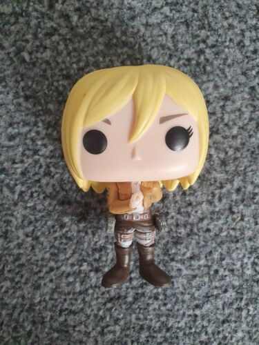 Vinyl Figure No Box Animation Christa #460 Attack On Titan Funko Pop