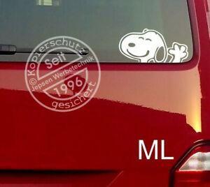 Aufkleber-Snoopy-14cm-S102-ML-oder-MR-Farbwahl-fuer-Heckscheibe-Seitenscheibe