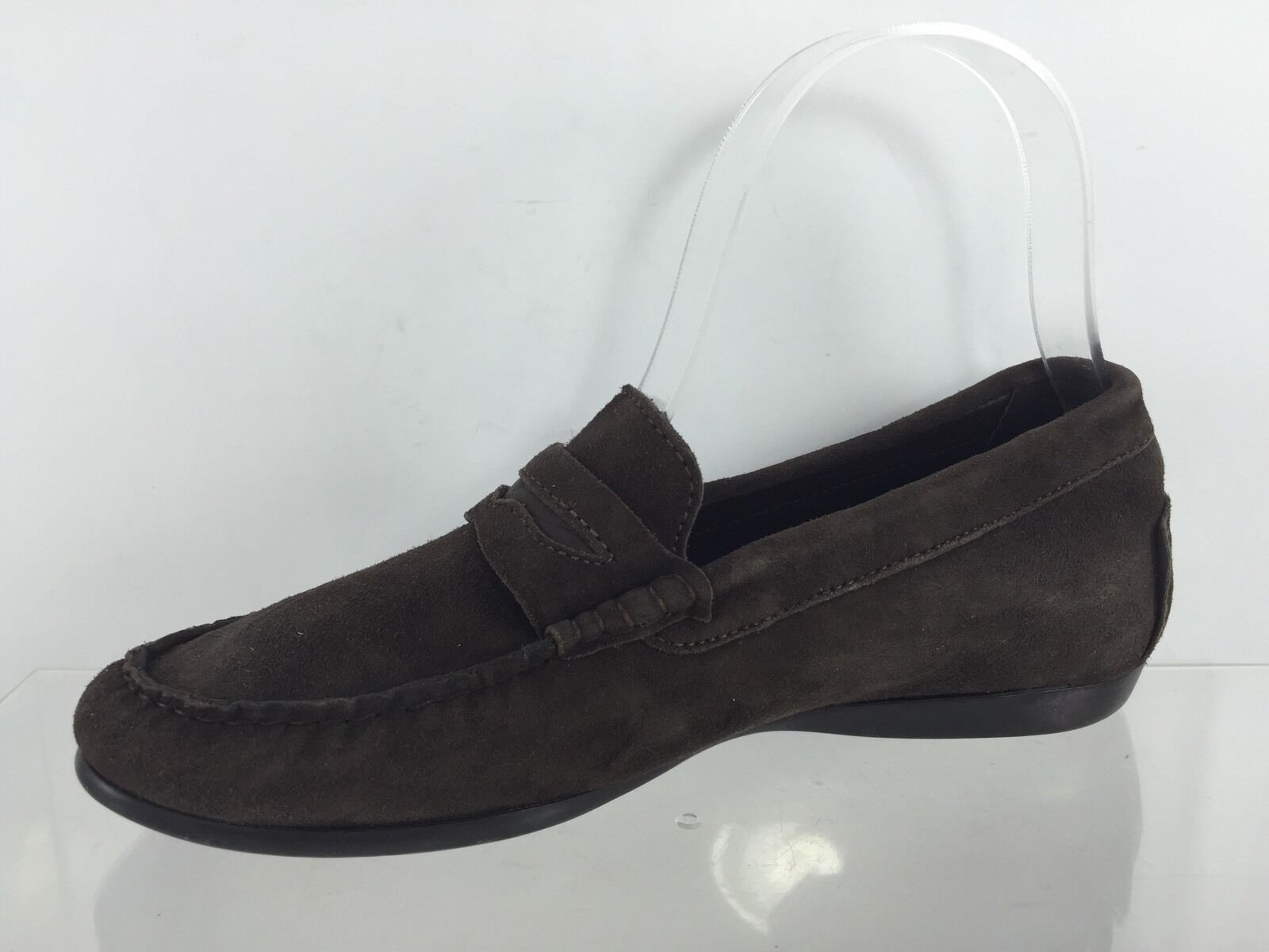 Munro Womens M Brown Leather Shoes 5.5 M Womens 38172c