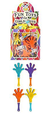 Kids Hand Clapper Play Toy Mini Fun Party Bag Filler Loot Clapping Sound Maker