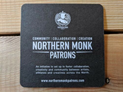 Northern Monk Brewery Patrons Project Beer Mats