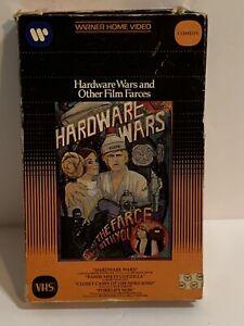 Warner Hardware Wars & Other Film Farces 1983 VHS Tape