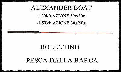 Canna Alexander Azione 30/50gr Boat Monopezzo Bolentino Sabiki Barca Fine Craftsmanship Rods Sporting Goods