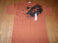Mens Duck Commander Duck Dynasty Dark Orange T-shirt Medium Short Sleeve