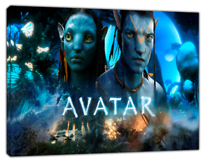 Avatar Movie Stars Picture Print On Framed Canvas Wall Art Home Decoration