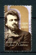 Mexico 2016 MNH Jesus F. Contreras Sculptor 1v Set Art Stamps