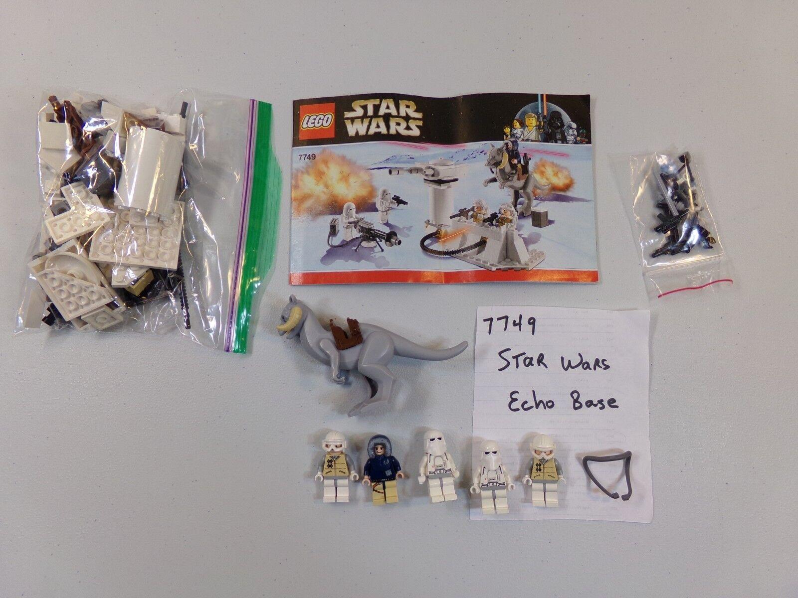 Lego 7749 Star Wars Echo Base - 100% Complete