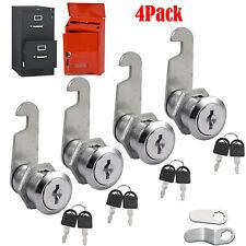 4pcs 25mm Keyed Cylinder Cam Locks Tool Box File Cabinet Desk Drawer With 8 Keys