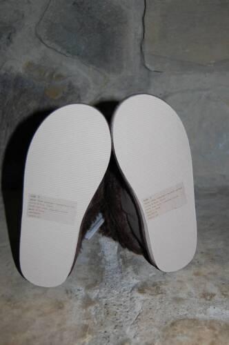 NWT GYMBOREE Girls Best Friend Brown Faux Fur Boots sz 11 or 3 NEW Winter Pompom